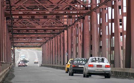 Мост для автомобилистов будет закрыт всю ночь