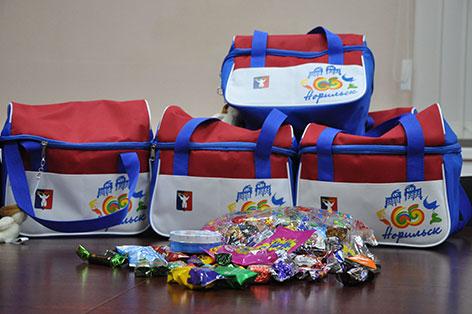 Подарки детям бюджетников